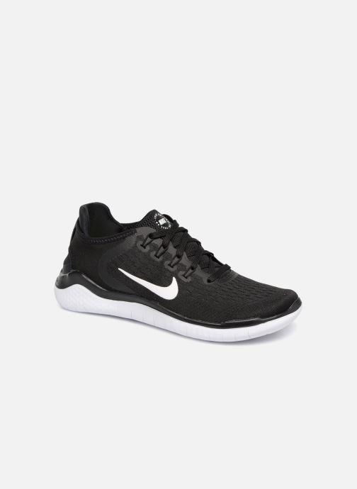 Sportssko Nike Wmns Nike Free Rn 2018 Sort detaljeret billede af skoene
