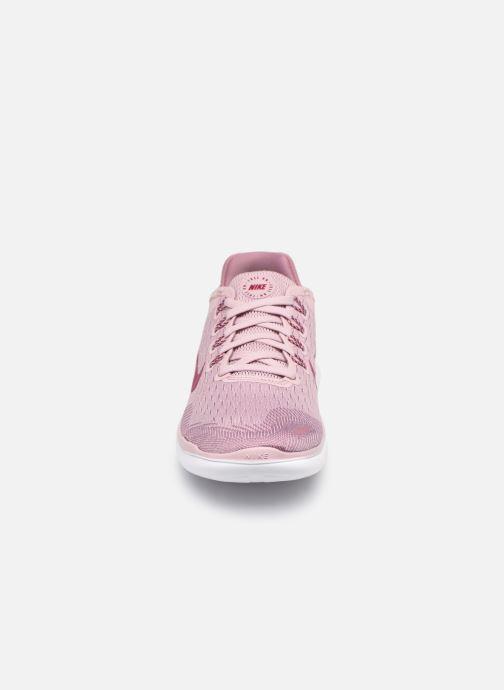 Sportschuhe Nike Wmns Nike Free Rn 2018 rosa schuhe getragen