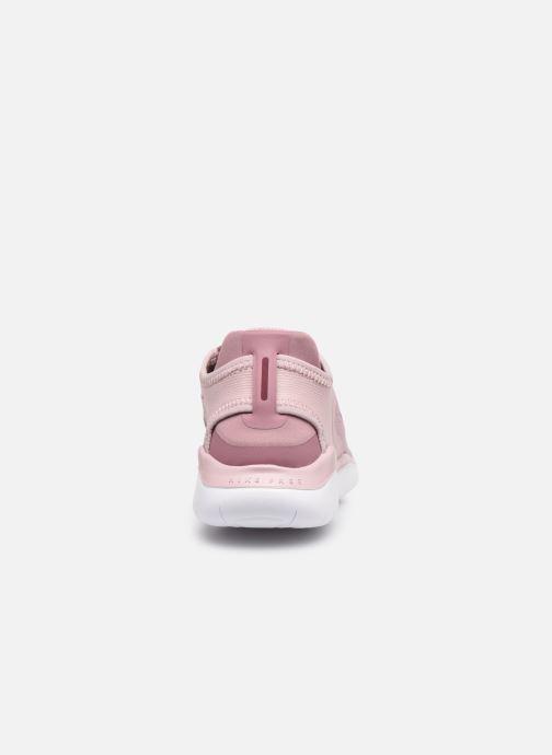 Sportssko Nike Wmns Nike Free Rn 2018 Pink Se fra højre