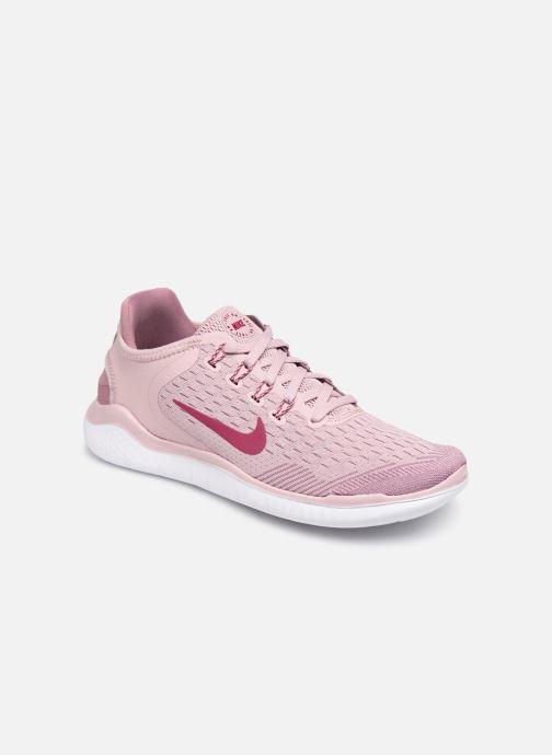 Sportssko Nike Wmns Nike Free Rn 2018 Pink detaljeret billede af skoene