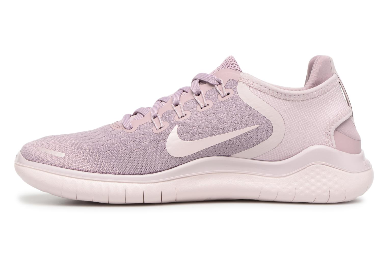 Chaussures de sport Nike Wmns Nike Free Rn 2018 Rose vue face
