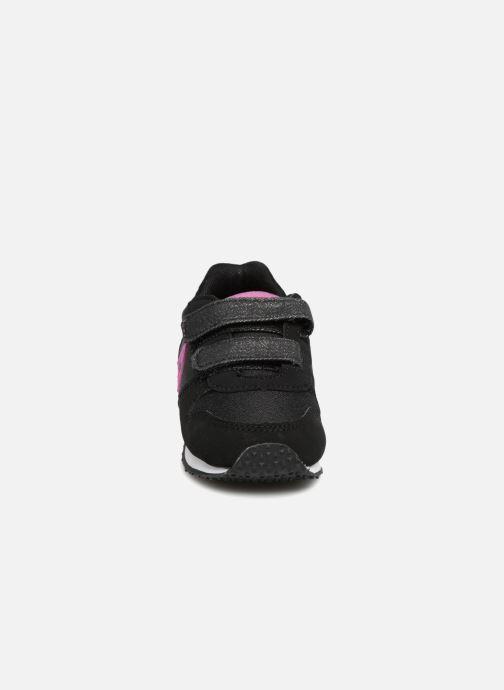 Baskets Le Coq Sportif Alpha Inf Princess Noir vue portées chaussures