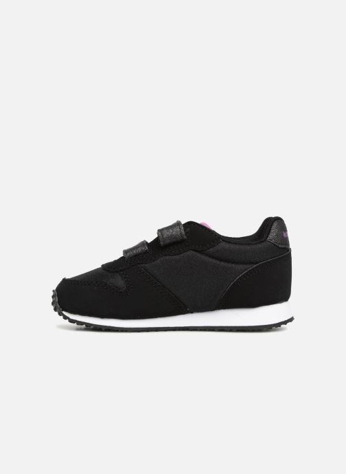 Baskets Le Coq Sportif Alpha Inf Princess Noir vue face