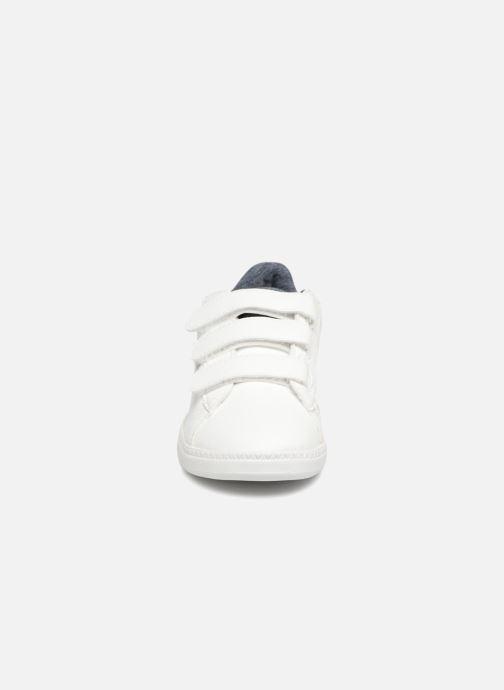 Baskets Le Coq Sportif Courtset PS Craft Blanc vue portées chaussures