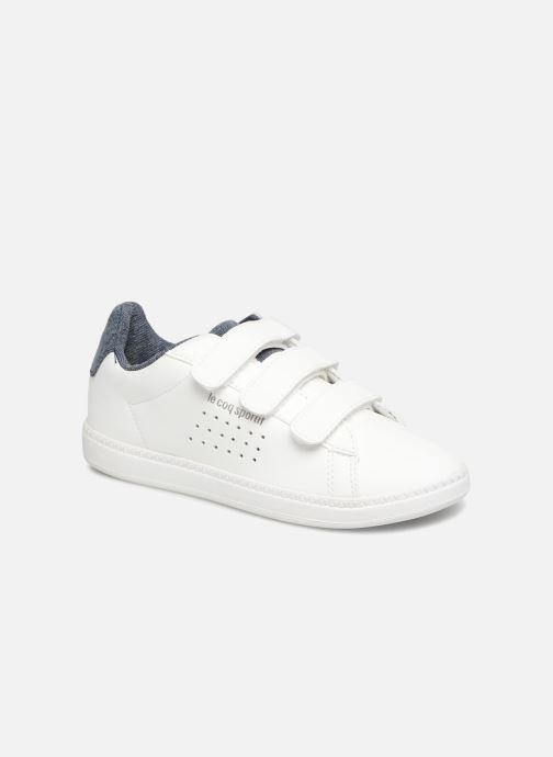a09e31871d2 Sneaker Le Coq Sportif Courtset PS Craft weiß detaillierte ansicht modell