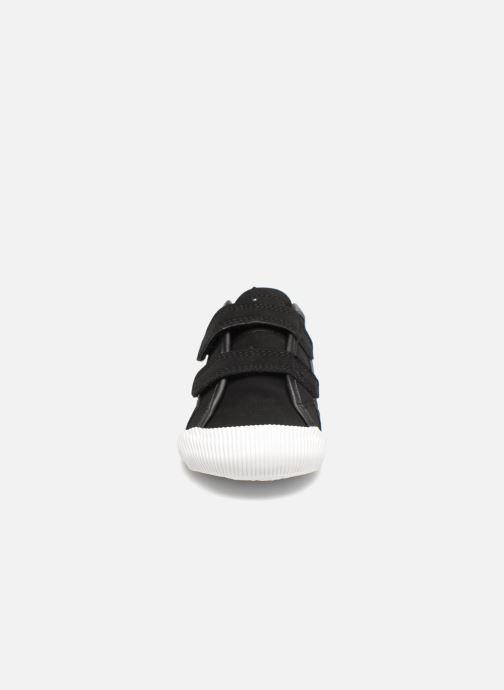 Baskets Le Coq Sportif Deauville Inf Winter Sport Noir vue portées chaussures