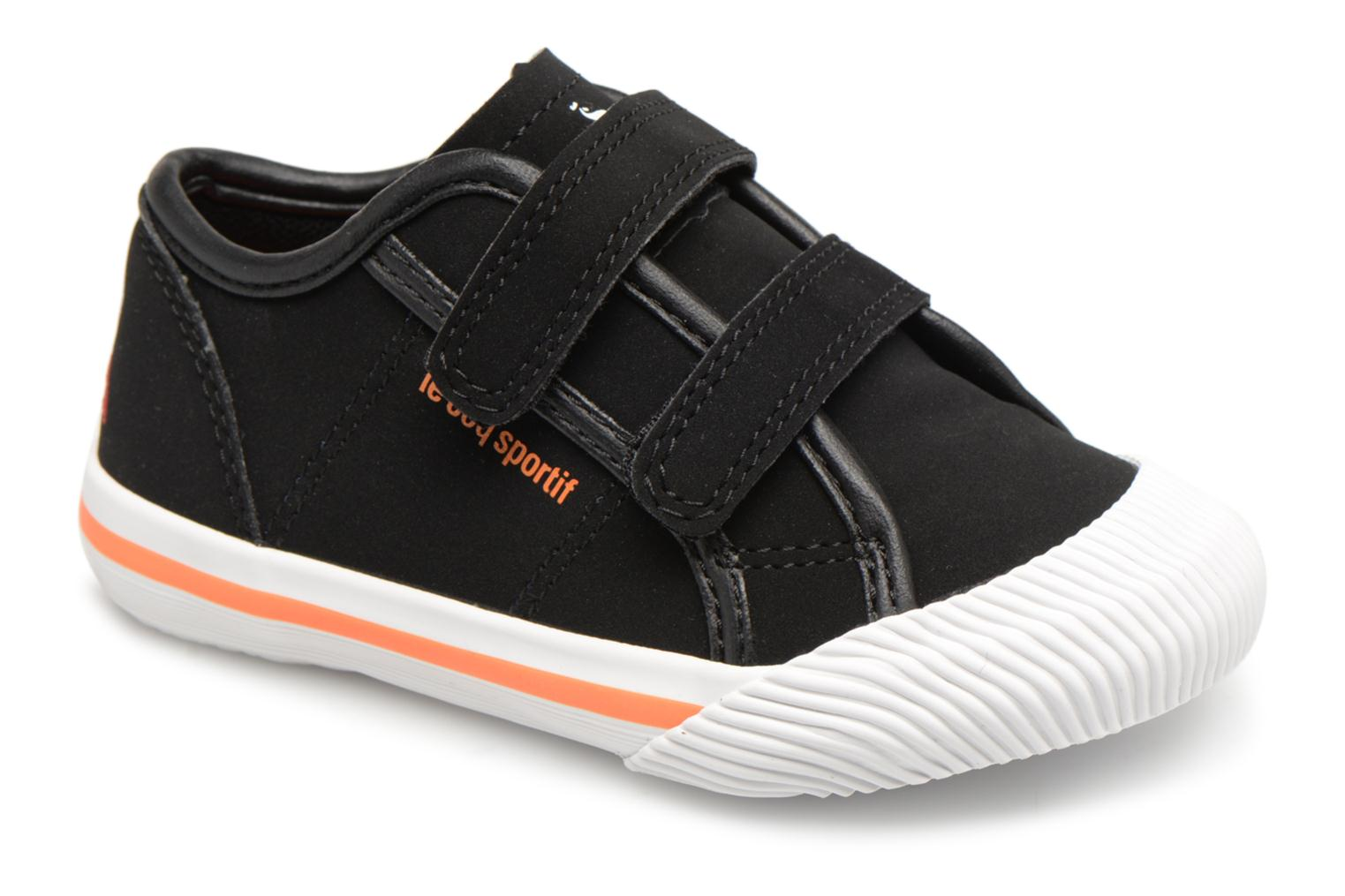 9d0745ffb2cc Trainers Le Coq Sportif Deauville Inf Winter Sport Black detailed view   Pair view