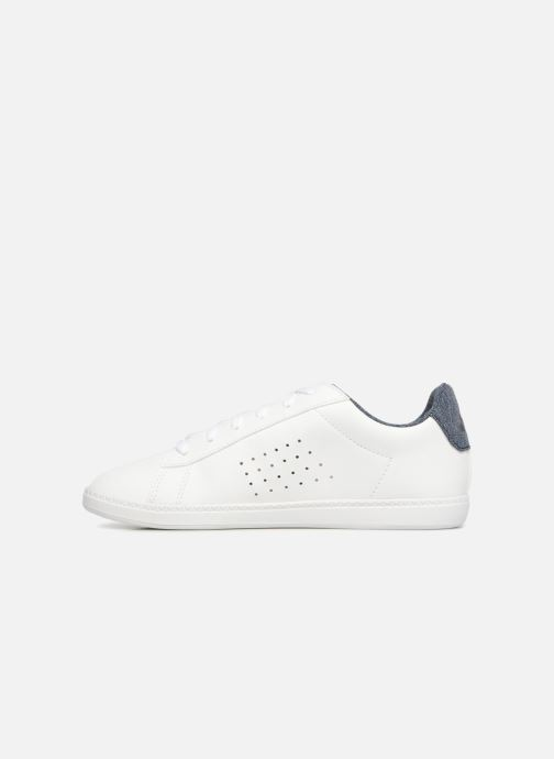 Sneakers Le Coq Sportif Courstet GS Craft Wit voorkant