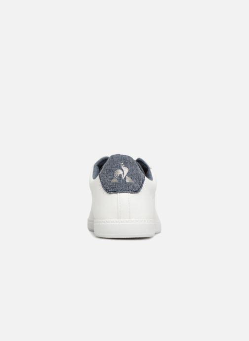 Sneakers Le Coq Sportif Courstet GS Craft Wit rechts