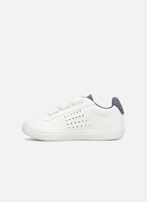 Sneakers Le Coq Sportif Courtset Inf Craft Wit voorkant