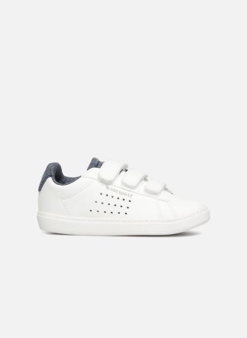 Sneakers Le Coq Sportif Courtset Inf Craft Wit achterkant