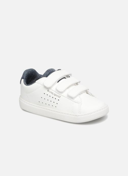 Sneakers Le Coq Sportif Courtset Inf Craft Wit detail