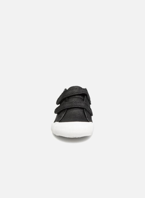 Baskets Le Coq Sportif Deauville Inf Princess Noir vue portées chaussures