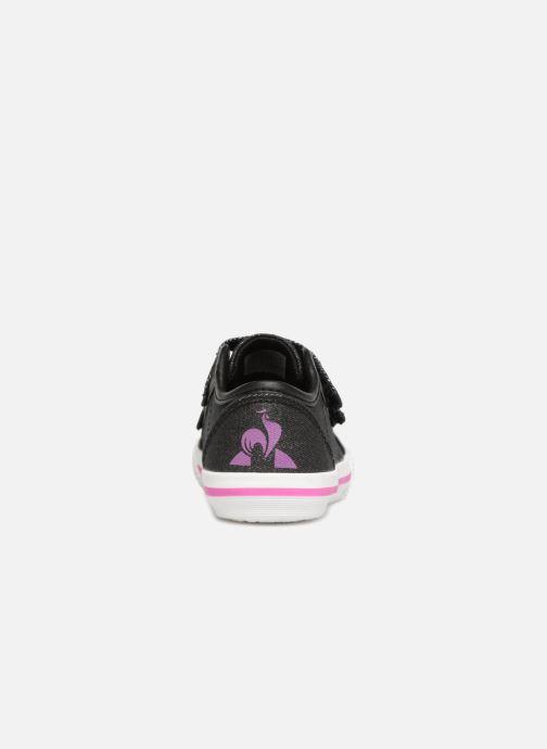 Sneakers Le Coq Sportif Deauville Inf Princess Zwart rechts