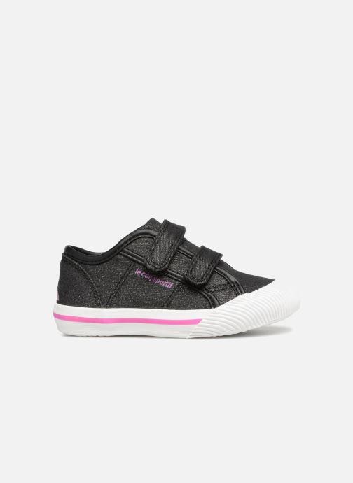 Sneakers Le Coq Sportif Deauville Inf Princess Zwart achterkant