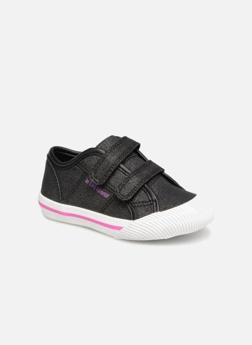 Sneakers Le Coq Sportif Deauville Inf Princess Zwart detail