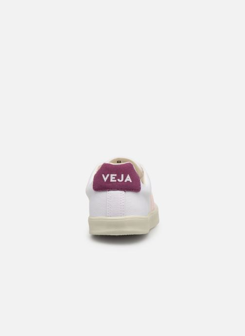 Trainers Veja Esplar W White view from the right