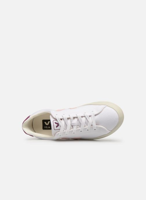 Trainers Veja Esplar W White view from the left