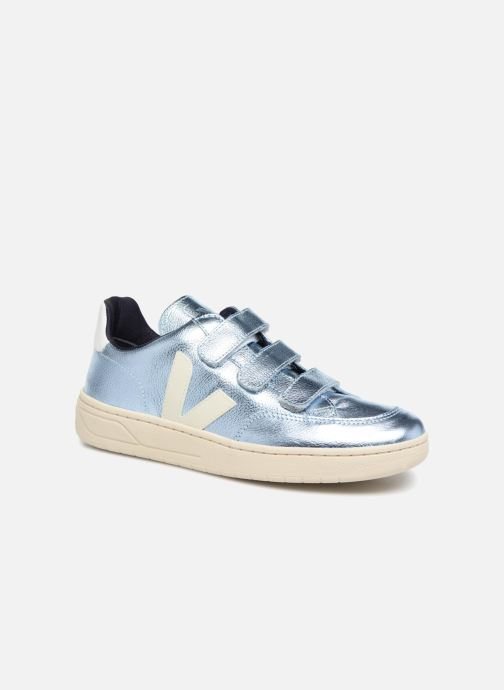 Trainers Veja V-12_Velcro Blue detailed view/ Pair view
