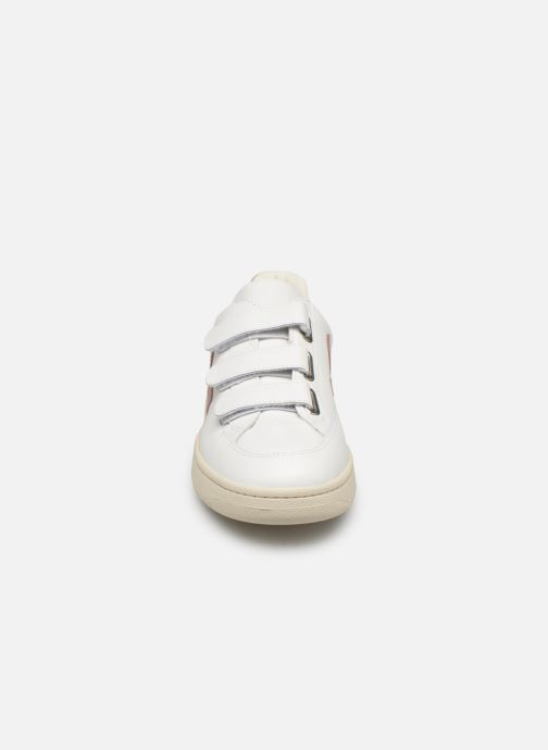Baskets Veja V-12_Velcro Blanc vue portées chaussures
