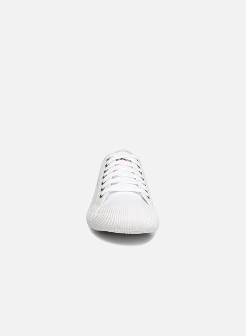 Baskets Le Coq Sportif Deauville Sport Blanc vue portées chaussures