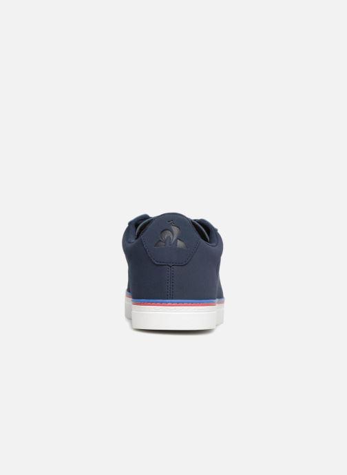 Baskets Le Coq Sportif Courtace Sport Bleu vue droite