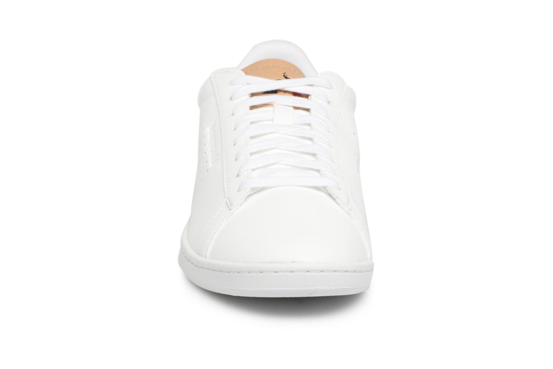 Baskets Le Coq Sportif Courtset Sport Blanc vue portées chaussures