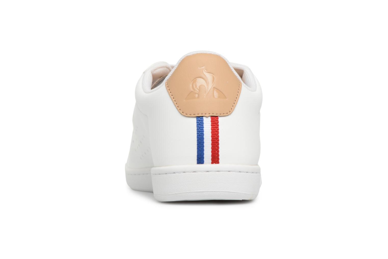 Baskets Le Coq Sportif Courtset Sport Blanc vue droite