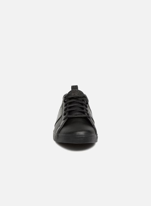 Sneaker Le Coq Sportif Carcans Winter Craft schwarz schuhe getragen