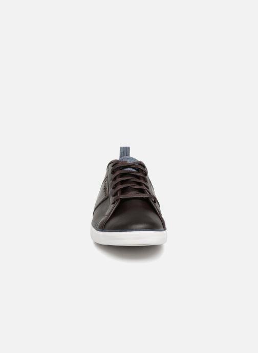 Baskets Le Coq Sportif Carcans Winter Craft Marron vue portées chaussures