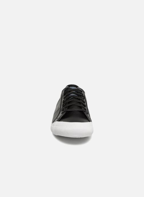 Sneaker Le Coq Sportif Deauville Winter Craft schwarz schuhe getragen