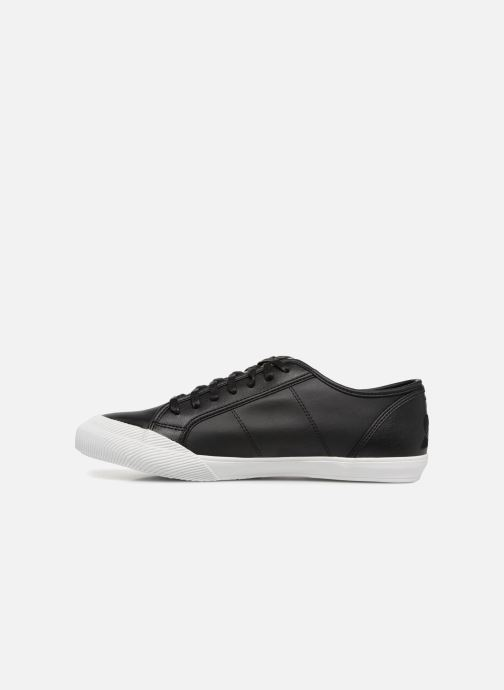 Sneaker Le Coq Sportif Deauville Winter Craft schwarz ansicht von vorne