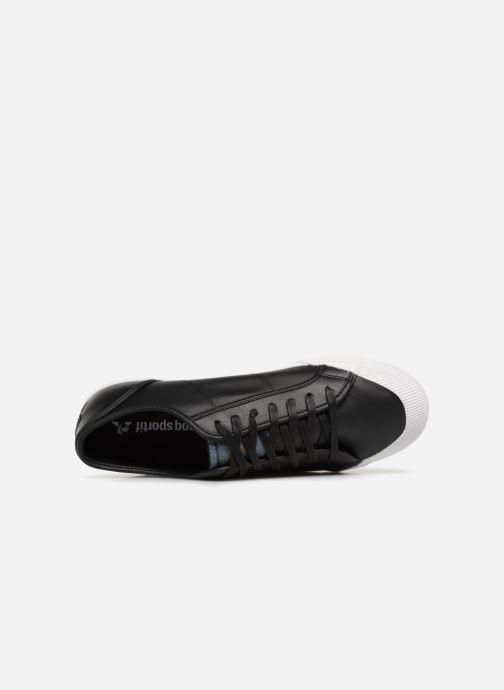 Sneaker Le Coq Sportif Deauville Winter Craft schwarz ansicht von links