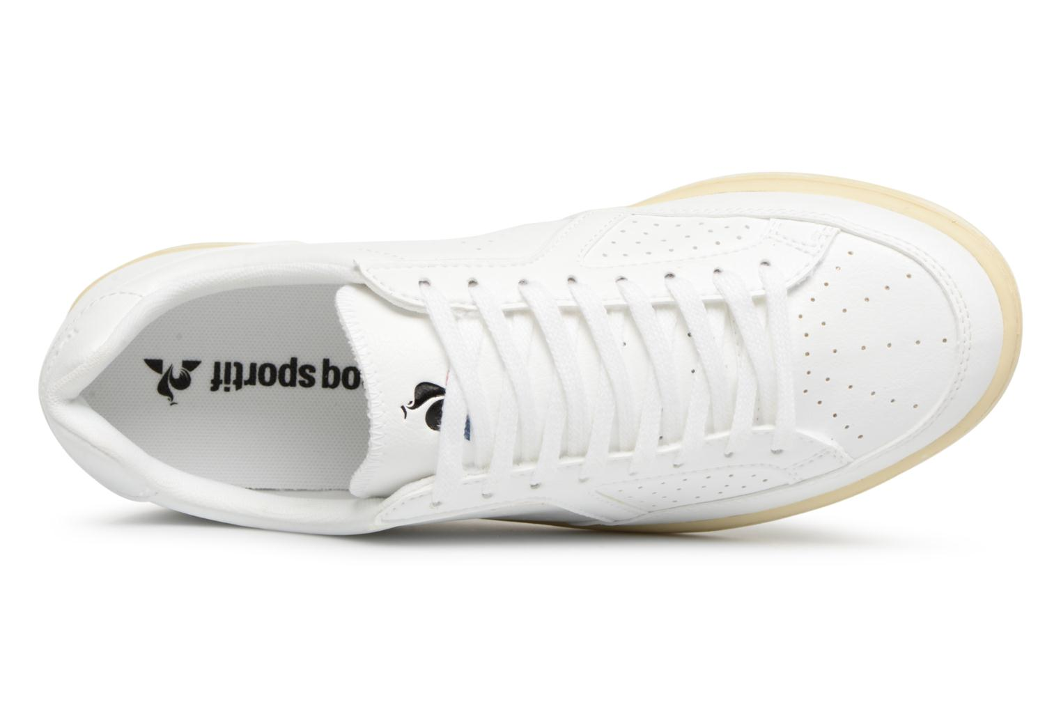 Sneakers Le Coq Sportif Icons Vintage Bianco immagine sinistra