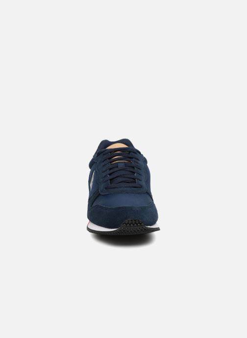 Baskets Le Coq Sportif Alpha Sport Bleu vue portées chaussures