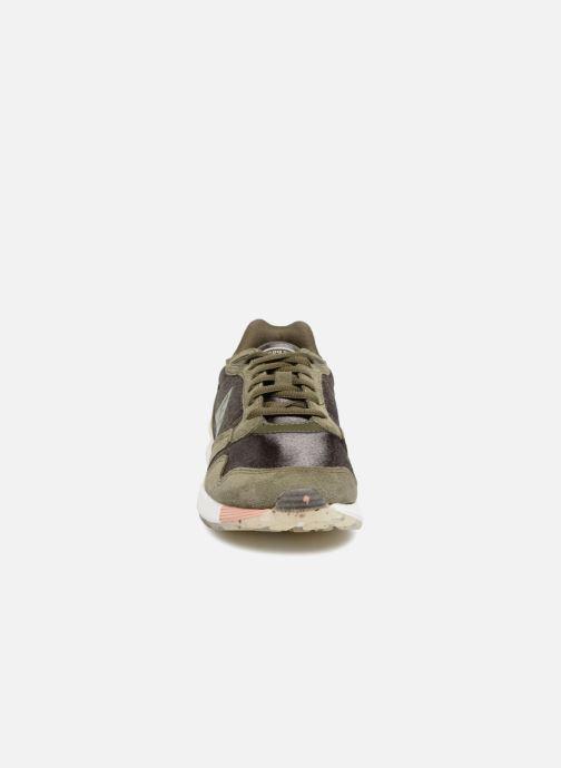 Baskets Le Coq Sportif Omega X Sport W Vert vue portées chaussures