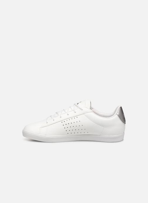 Baskets Le Coq Sportif Agate Premium Blanc vue face
