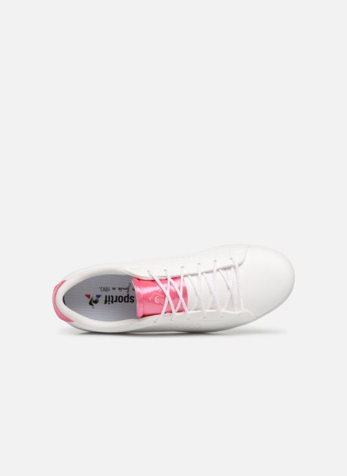 Sneaker Le Coq Sportif Agate Sport weiß ansicht von links