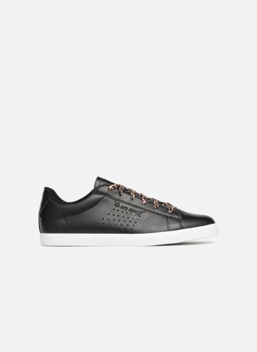 Trainers Le Coq Sportif Agate Animal Black back view
