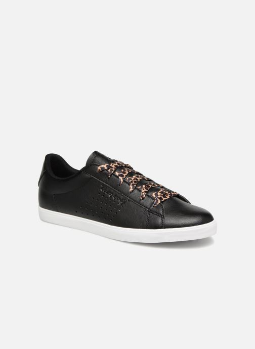 Trainers Le Coq Sportif Agate Animal Black detailed view/ Pair view