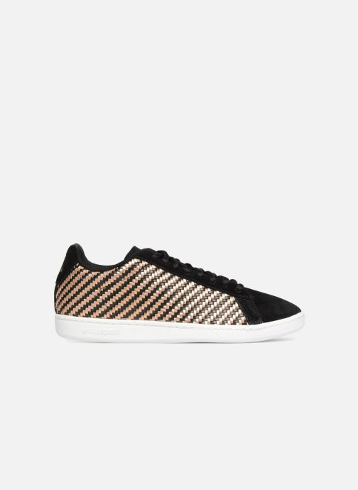 Trainers Le Coq Sportif Courtset W Woven Black back view
