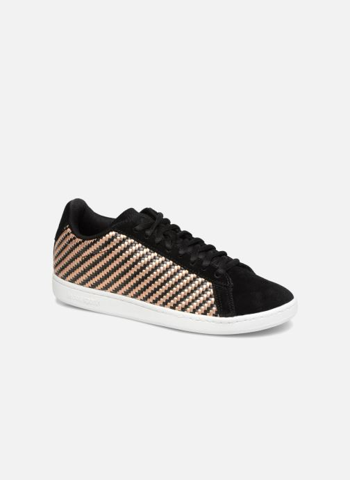 Trainers Le Coq Sportif Courtset W Woven Black detailed view/ Pair view