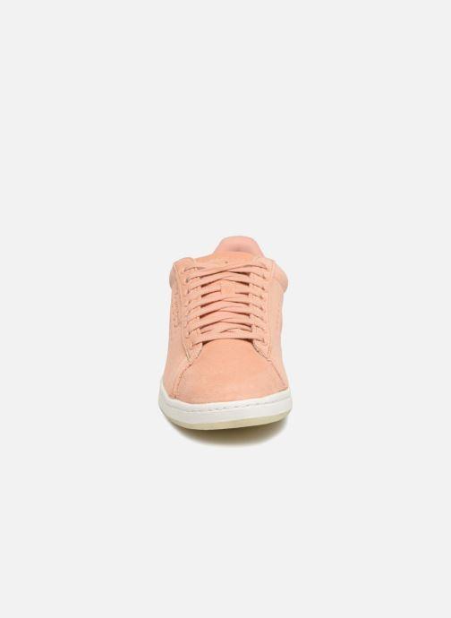 Baskets Le Coq Sportif Courtset W Bold Rose vue portées chaussures