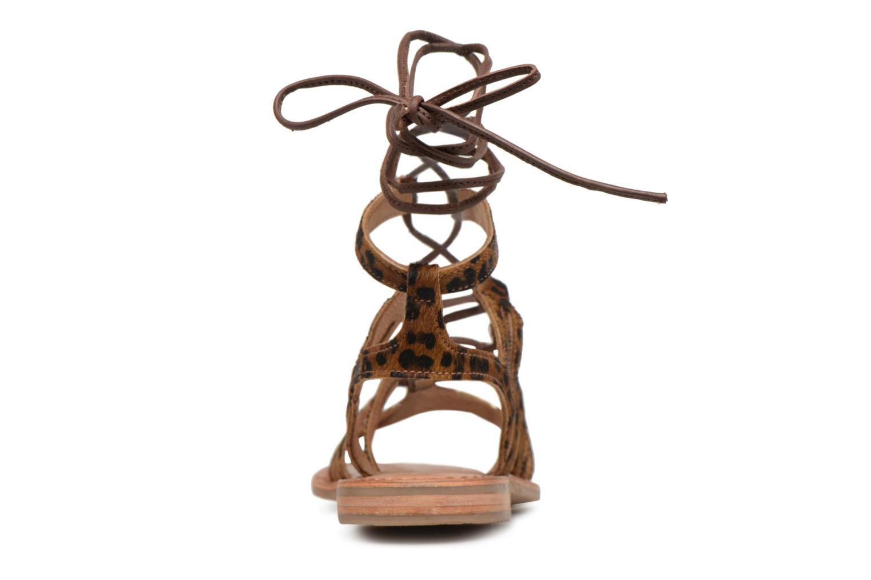 Sandales et nu-pieds Les Tropéziennes par M Belarbi HERCLEO Multicolore vue droite