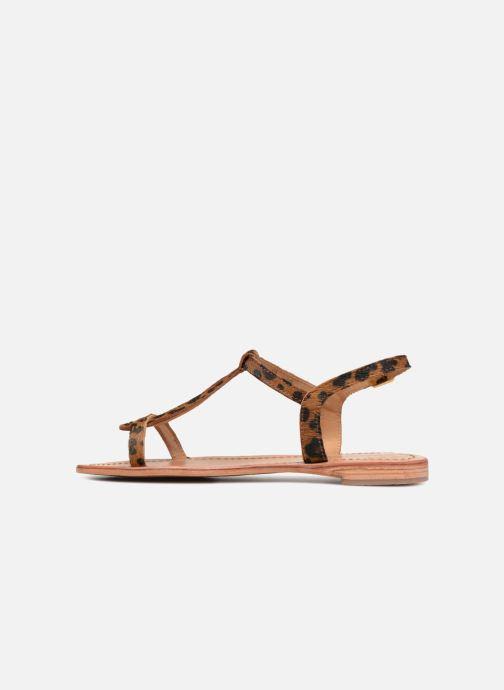 Sandales et nu-pieds Les Tropéziennes par M Belarbi HALEO Multicolore vue face
