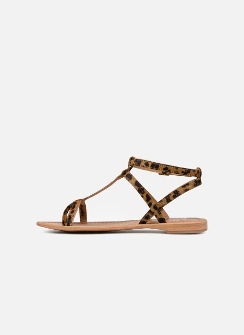 Sandales et nu-pieds Les Tropéziennes par M Belarbi HILANEO Multicolore vue face