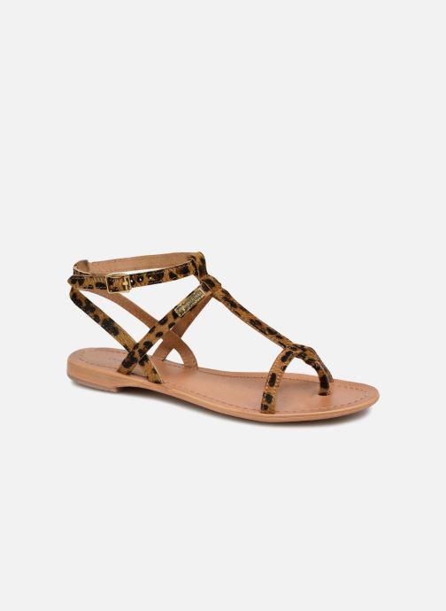 Sandales et nu-pieds Les Tropéziennes par M Belarbi HILANEO Multicolore vue détail/paire