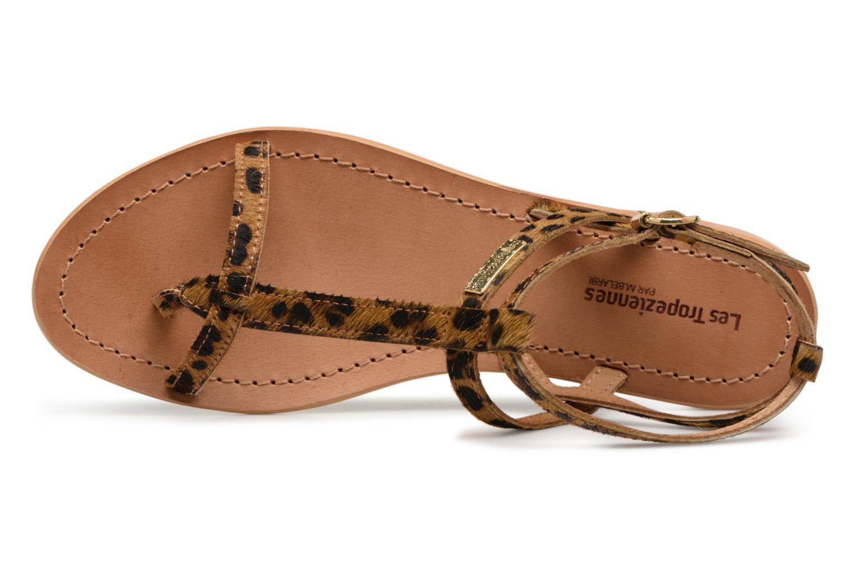 Sandales et nu-pieds Les Tropéziennes par M Belarbi HILANEO Multicolore vue gauche