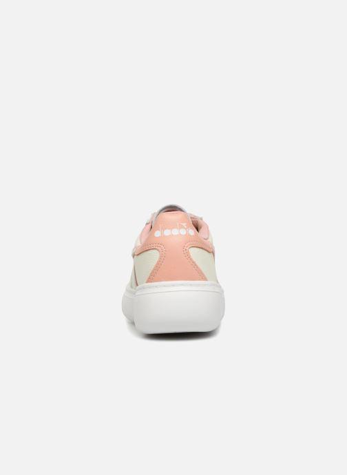 Baskets Wide Diadora White dusty Pink Elite I 3LcqSAR4j5