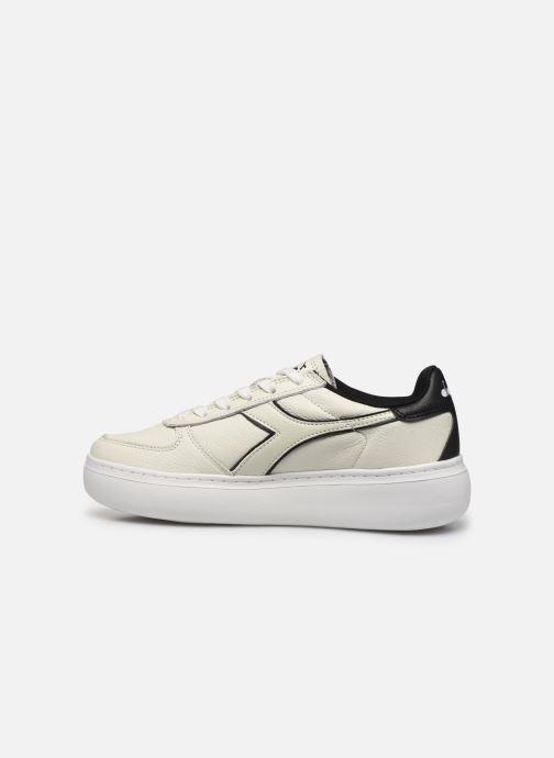 Sneakers Diadora Elite Wide I Wit voorkant